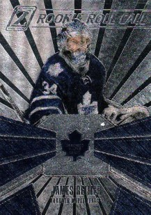 2010-11 Panini Zenith James Reimer Rookie Roll Call