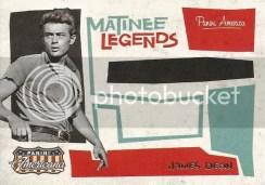 2011 Panini Americana James Dean Matinee Legends