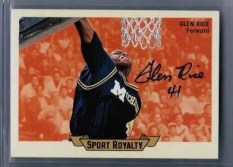 2011 Goodwin Champions Glen Rice Autograph Sports Royalty