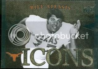 2011 Upper Deck University Of Texas Longhorns Icons Card