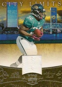 2011 Panini Plates & Patches Jones Drew City Limits Jersey