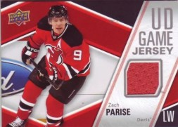 2011-12 UD Game Jersey Series 1 Zach Parise