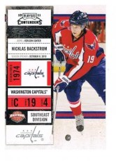 2010-11 Playoff Contenders Hockey Nicklas Backstrom Base Card #100