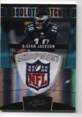 2011 Panini Absolute DeSean Jackson NFL Shield