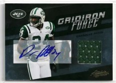 2011 Panini Absolute Darrelle Revis Gridiron Force Autograph