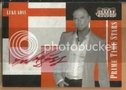 2011 Panini Americana Luke Goss Autograph