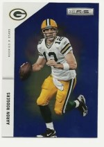 2011 Panini Rookies & Stars Longevity Aaron Rodgers Blue Base Card #/75