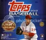 2012 Topps Series 1 Jumbo Box HTA