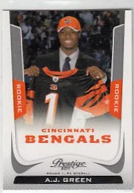 2011 Panini Prestige A.J. Green Sp Variation Rookie