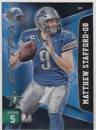 2011 Adrenalyn Series 2 Matthew Stafford Extra
