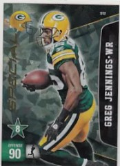 2011 Panini Adrenalyn Series 2 Greg Jennings Special