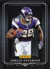 2011 Panini Black Friday Adrian Peterson