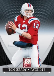 2011 Donruss Elite Football Tom Brady Base Card