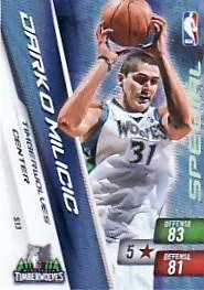 Darko Milicic Adrenalyn Special Card