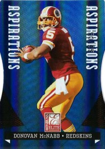 2011 Donruss Elite Donovan McNabb Aspirations Parallel Card #50/95