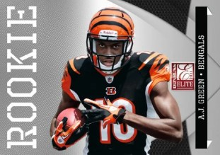 2011 Donruss Elite AJ Green Bengals Rookie Card