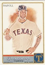 2011 Topps Allen and Ginter Mike Napoli