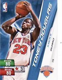 10-11 Adrenalyn NBA Toney Douglas