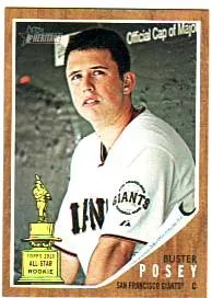 2011 Topps Heritage Buster Posey #218