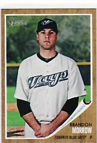 2011 Topps Heritage Brandon Morrow #489 Sp