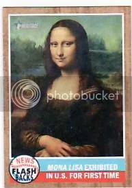 2011 Topps Heritage Mona Lisa NF-3