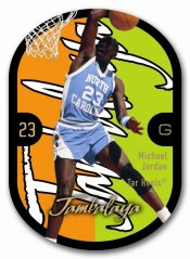 2011-12 Fleer Retro Jambalaya Michael Jordan Card
