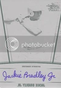 2011 Leaf Metal Draft Jackie Bradley Jr Autograph