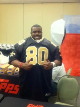 Mark Ingram Saints at NFL Rookie Premiere Photo Shoot