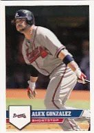 2011 Topps MLB Sticker Alex Gonzalez