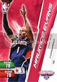 2010-11 Adrenalyn NBA 2 Maurice Evans Free Code