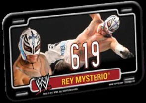 2012 Topps Power Plates Rey Mysterio Jr. 619
