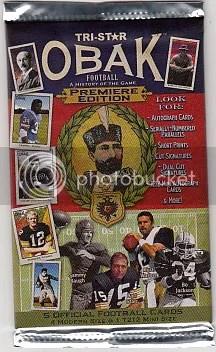2011 TriStar Obak Football Pack
