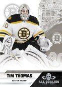 2010-11 Panini All Goalies Tim Thomas Card