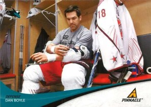 2011-12 Pinnacel Dan Boyle Base Card