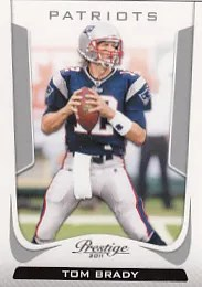 2011 Prestige Tom Brady Base Card