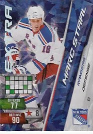 Marc Staal Adrenalyn NHL Extra Card