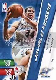 2010-11 NBA Adrenalyn 2 JaValle McGee Code