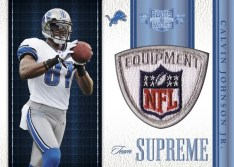 2011 Panini Plates & Patches Calvin Johnson Team Supreme