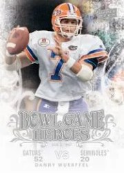 2011 Upper Deck Bowl Game Heroes Danny Wuerffel