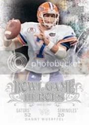 2011 Upper Deck Bowl Game Heroes Danny Wuerffel