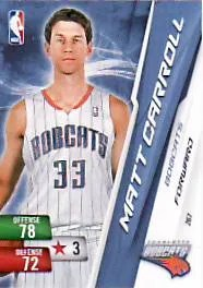 Matt Carroll Adrenalyn NBA Series 2 Card