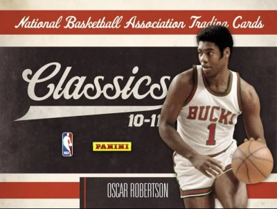 201011 Panini Classics Basketball Hobby Box Checklist