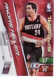 Andre Miller Special Adrenalyn Card