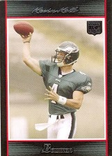Kevin Kolb Bowman RC Card