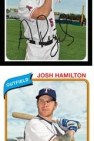 2012 Topps Archives 1980 Josh Hamilton Base Card