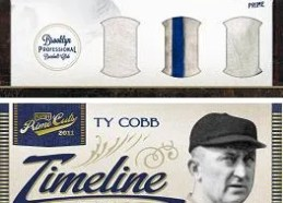 2011 Playoff Prime Cuts Icons Jackie Robinson