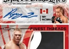 2012 Topps Finest UFC Brock Lesnar Patch
