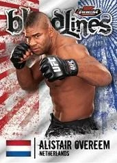 2012 Topps Finest UFC Alistair Overeem Bloodlines