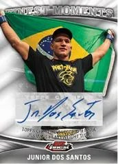 2012 Topps Finest UFC Junior Dos Santos Autograph