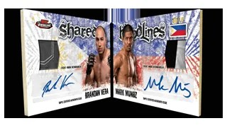 2012 Topps Finest UFC Dual Bloodlines